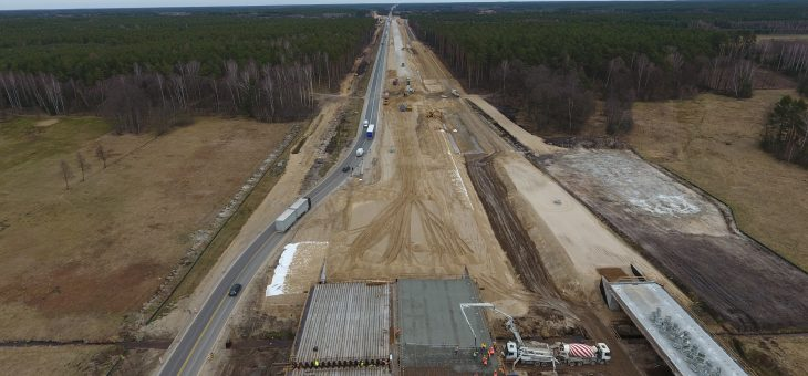 Wykonaliśmy nalot liniowy wraz z inspekcją budowy drogi ekspresowej