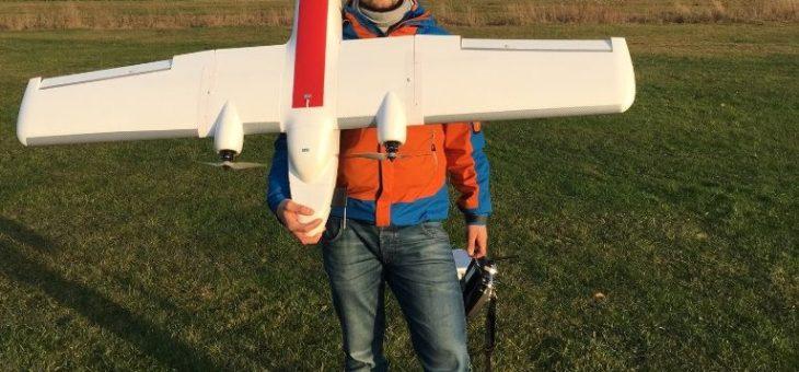 Prezentacja drona geodezyjnego GeoPixel MTD