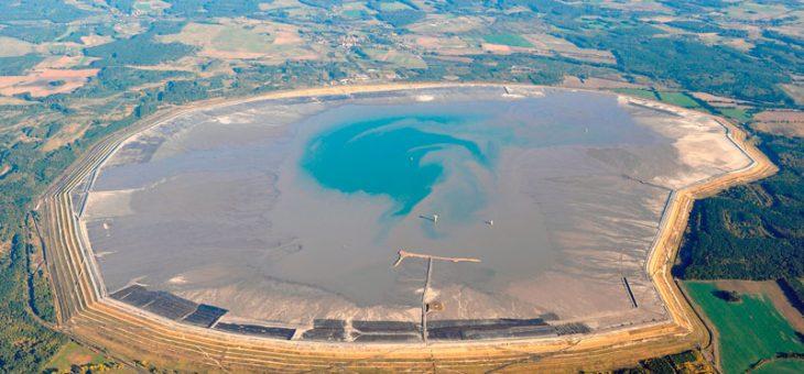 Wykonaliśmy nalot fotogrametryczny nad zbiornikiem unieszkodliwiania odpadów wydobywczych Żelazny Most.