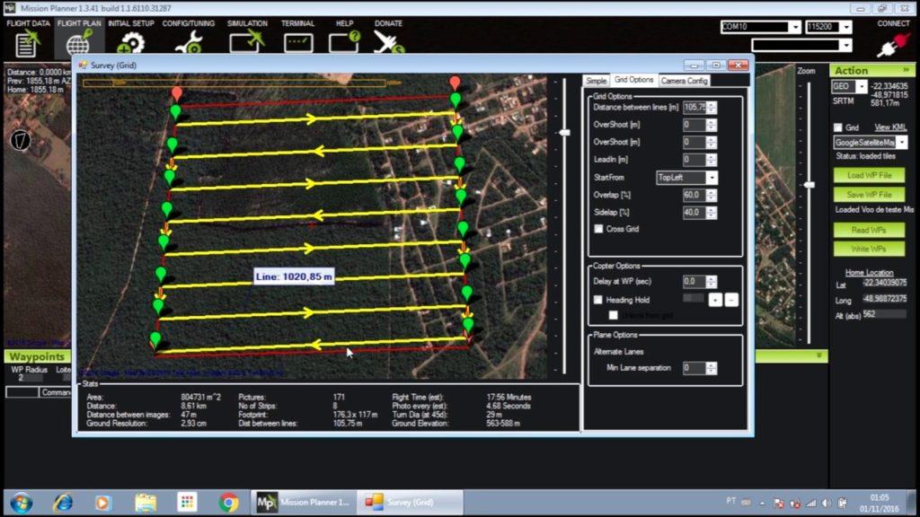 dron dla geodety