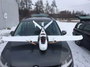 drony dla geodezji