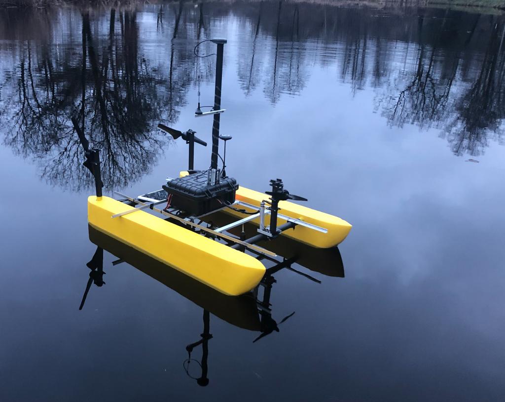 platforma batymetryczna RTK