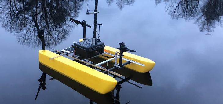 Platforma batymetryczna GPS RTK