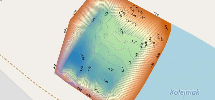 Pomiary i mapy batymetryczne