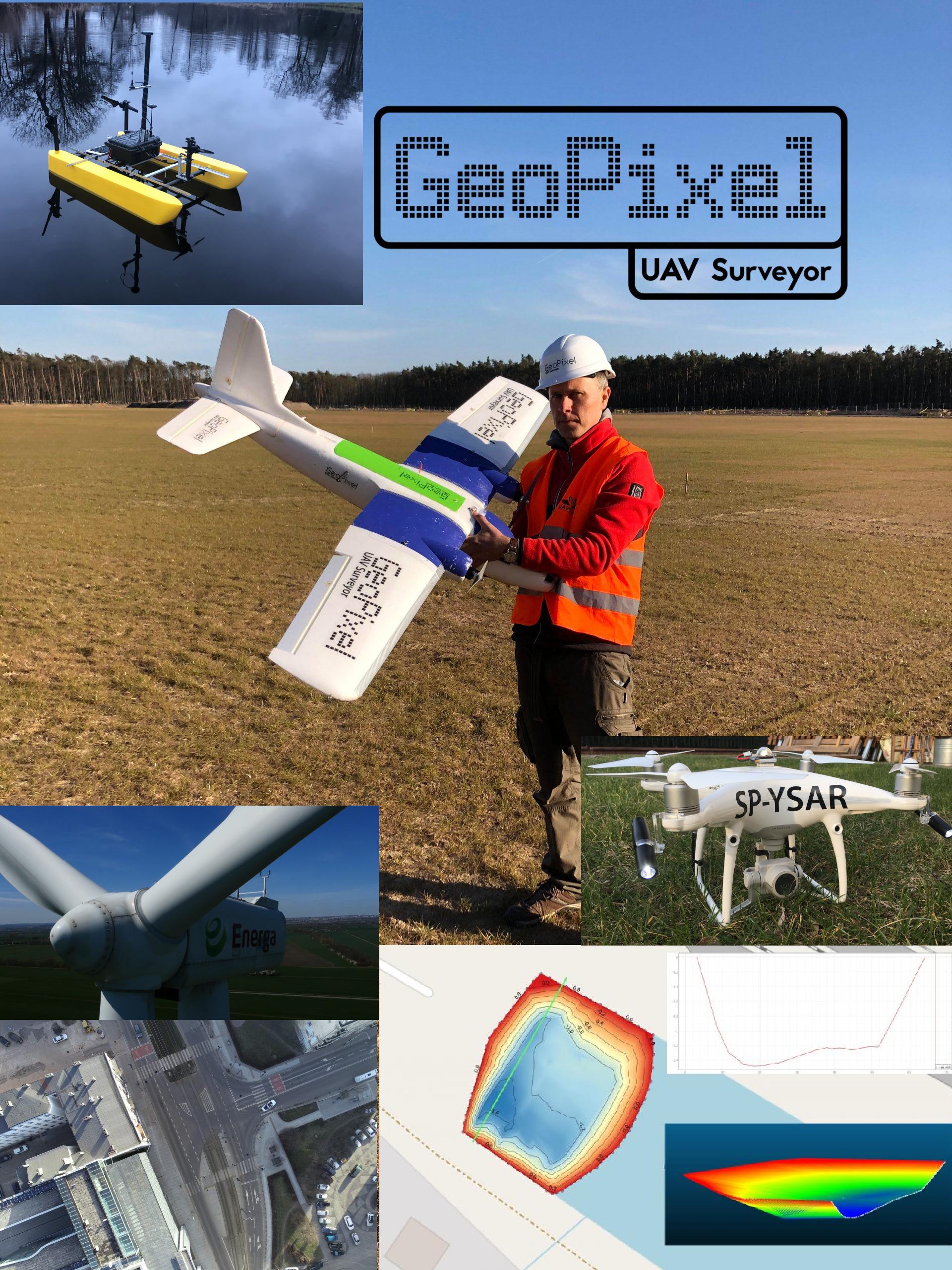 Pomiary dronami GeoPixel: