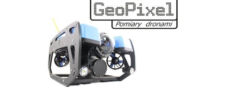 BlueROV2 – dron podwodny w GeoPixel