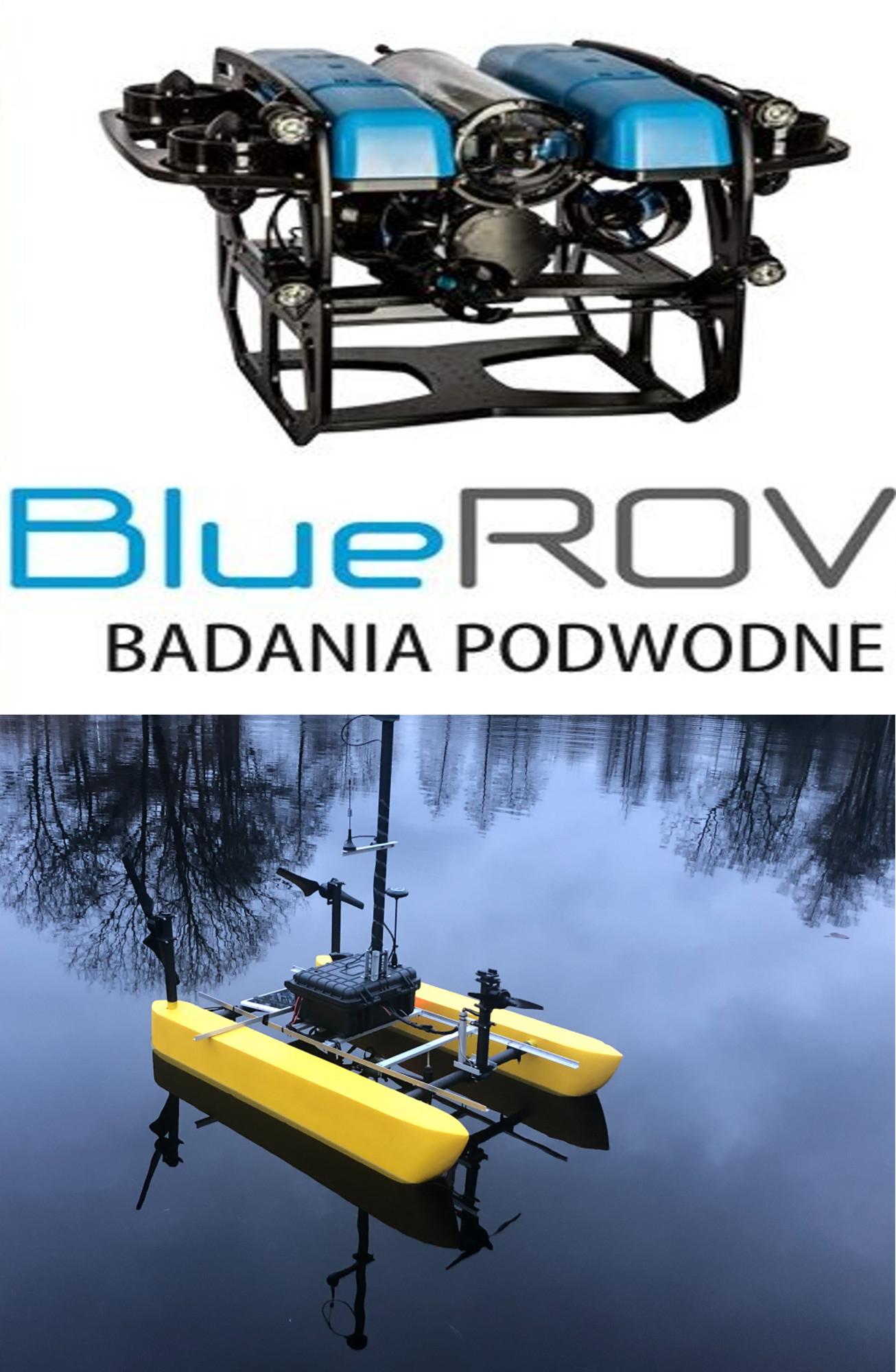 Pomiary dronami ROV, UAV