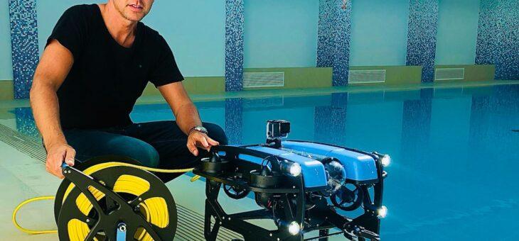Dron podwodny ROV – Remotely Operated Vehicle