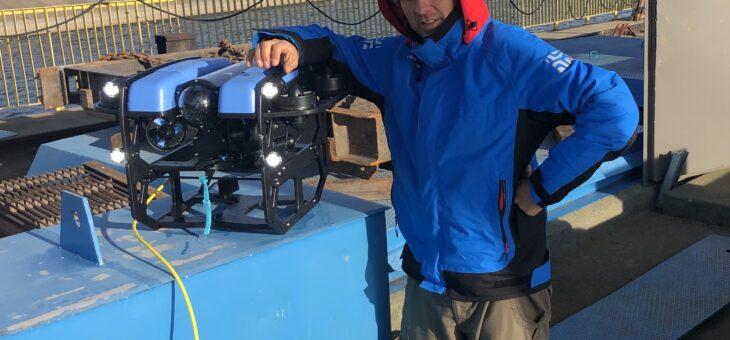 Dron podwodny ROV